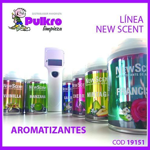 fragancia de ambiente en aerosol newscent  (24 unidades)