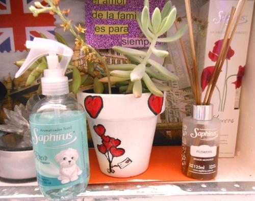 fragancia textil aromatizador perfume ropa saphirus