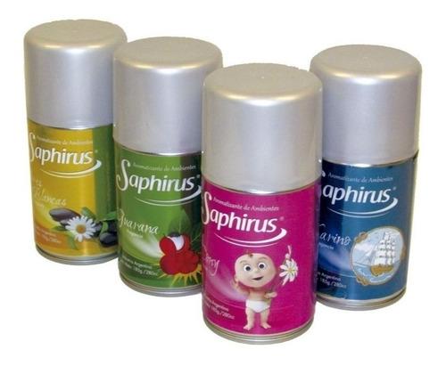 fragancias saphirus repuesto aerosol - distribuidor oficial
