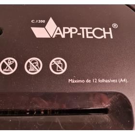 Fragmentadora De Papel App-tech C1200 12 Folhas