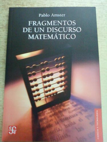 fragmento de un discurso matematico amster