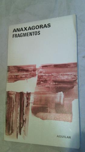 fragmentos anaxagoras