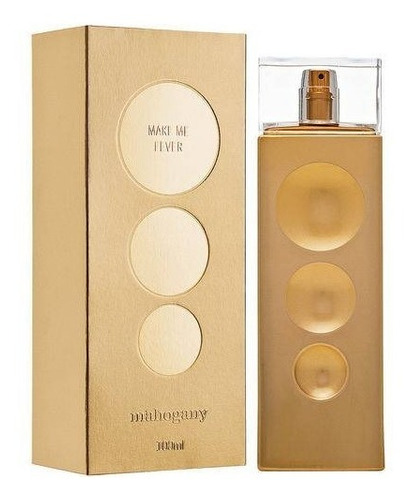 fragrância des. make me fever gold 100 ml