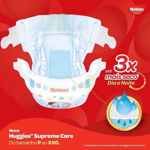 fralda huggies 3 pct supreme care g - 192 fraldas