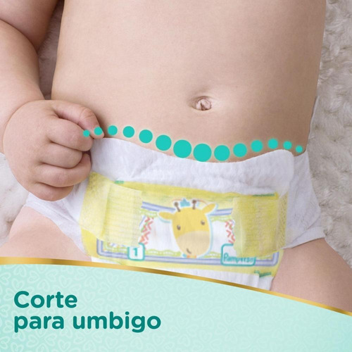 fralda pampers premium care recém-nascido rn pacote 36 unidades
