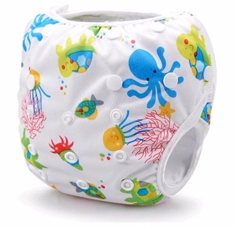 Fralda reutilizavel pode ser usada na piscina e na praia for Piscina bebe con parasol