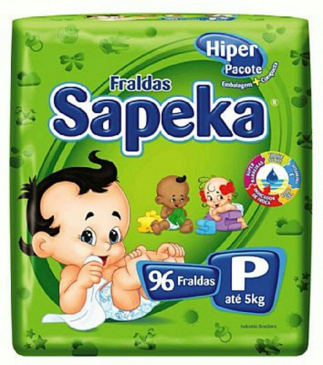 2f8655b5d Fralda Sapeka Hiper P ( 96 Fraldas ) - R  59