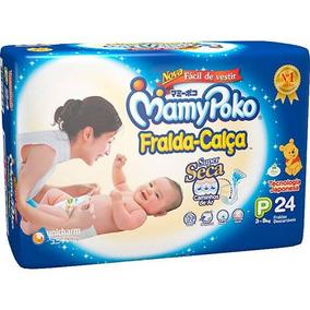 db58f0cc5 Fralda Mamypoko Bolsas Fraldas Descartaveis - Bebês no Mercado Livre ...