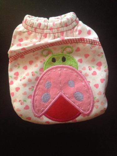fraldas em algodão bordadas para bebês !