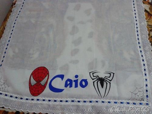 fraldas pintadas homem aranha