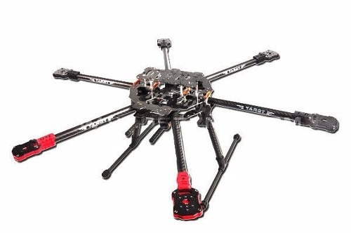 Frame Tarot Fy690s Hexacopter Trem Dobrável Drone Fpv