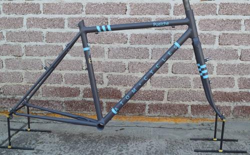 frameset de cicloturismo  puelche