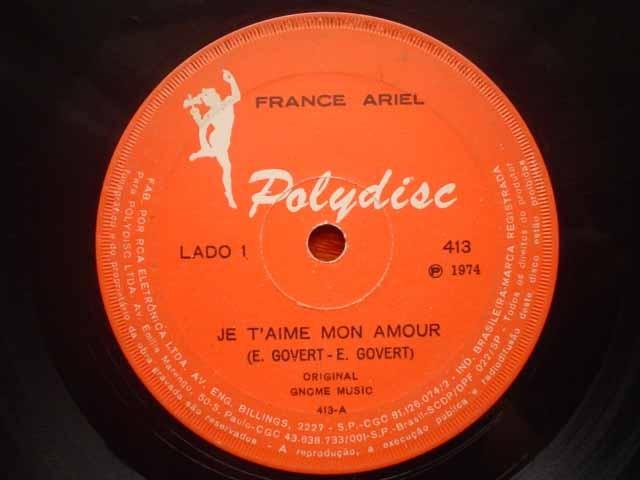 France Ariel Je Taime Mon Amour 7 Brazil 49200