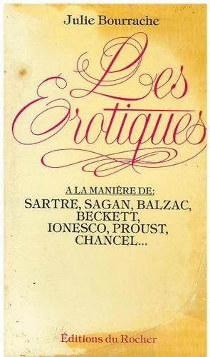 francés, les erotiques de julie bourrache.