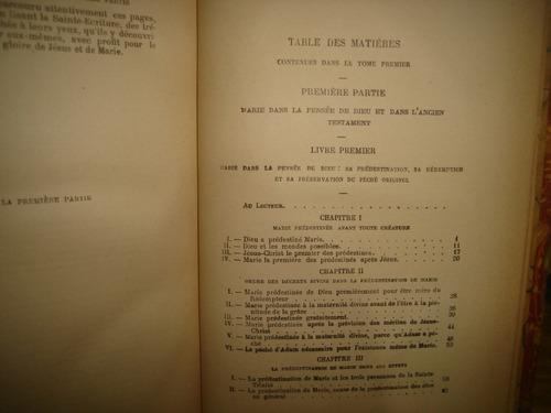 francés-somme des grandeurs d marie/grandezas d maría - 1900