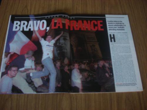 francia campeón del mundo! revista time 1998