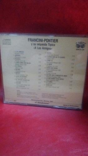 francini - pontier - a los amigos - sello el bandoneon