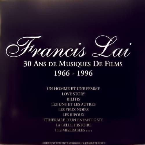 francis lai / 30 years of film musis 1966-1996 /  2 cd,s