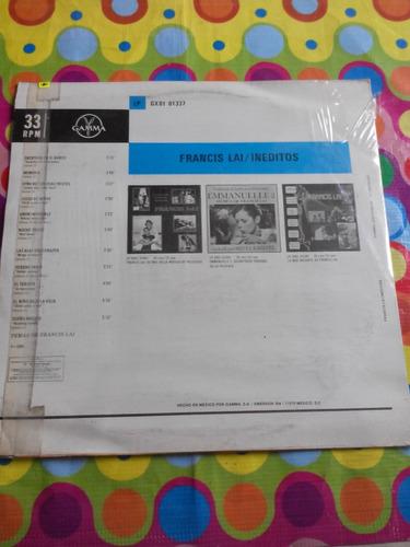 francis lal lp ineditos 1983 sonido disco