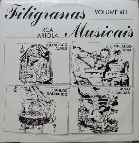 francisco alves carlos galhardo - lp filigranas musicais v-8