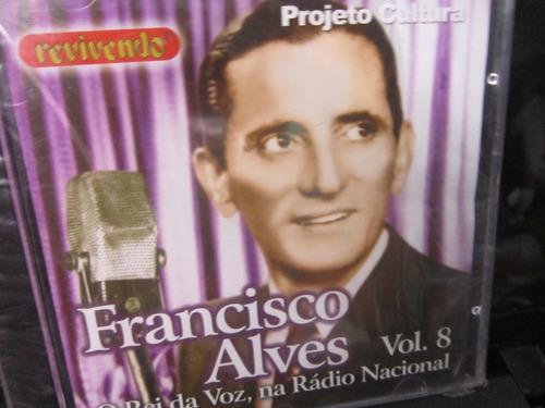 francisco alves, cd  o rei da voz vol.8, 1998