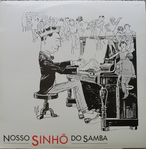 francisco alves mario reis nosso sinhô do samba - lp encarte