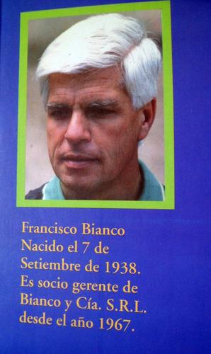 francisco bianco gracias firmado por autor