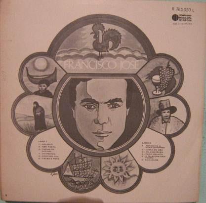 francisco josé - novas canções de portugal  - 1969