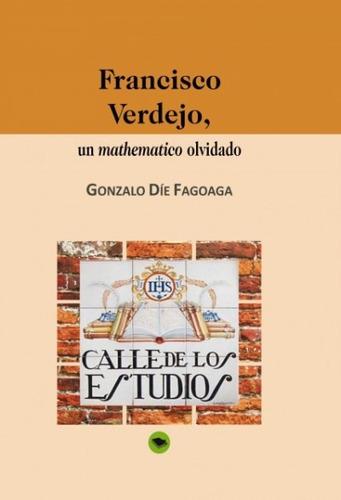francisco verdejo, un mathematico olvidado(libro )