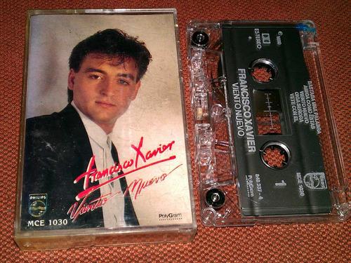 francisco xavier  cassette viento nuevo 1990  pm0