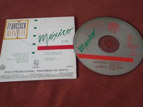 francisco xavier cd sencillo mexico  jose luis perales pm0