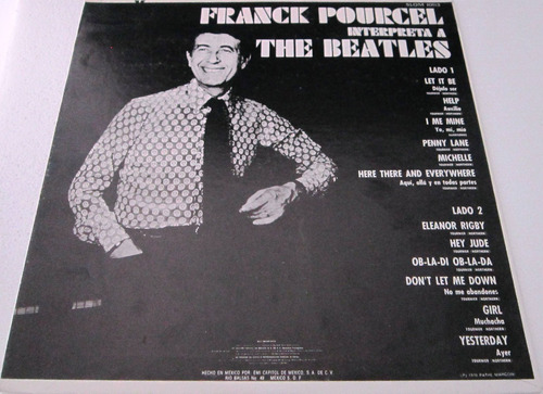 franck pourcel - interpreta a the beatles lp