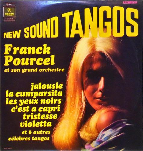 franck pourcel lp 1969 new sound tangos 12817