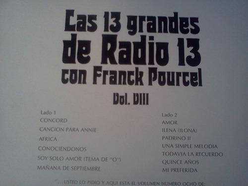 franck pourcel presenta las 13 grandes de radio 13 lp vinyl