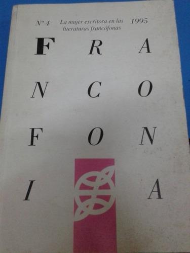 francofonía. revista año 1995 nº4.
