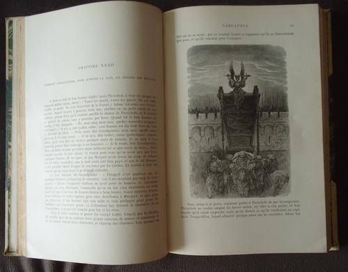 françois rabelais - oeuvres - 2 volumes  (gustave doré)