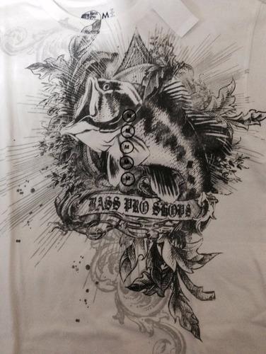 franela bass pro shops original talla m nueva!!!!!