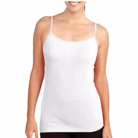 franela camiseta blanca de mujer talla m algodon