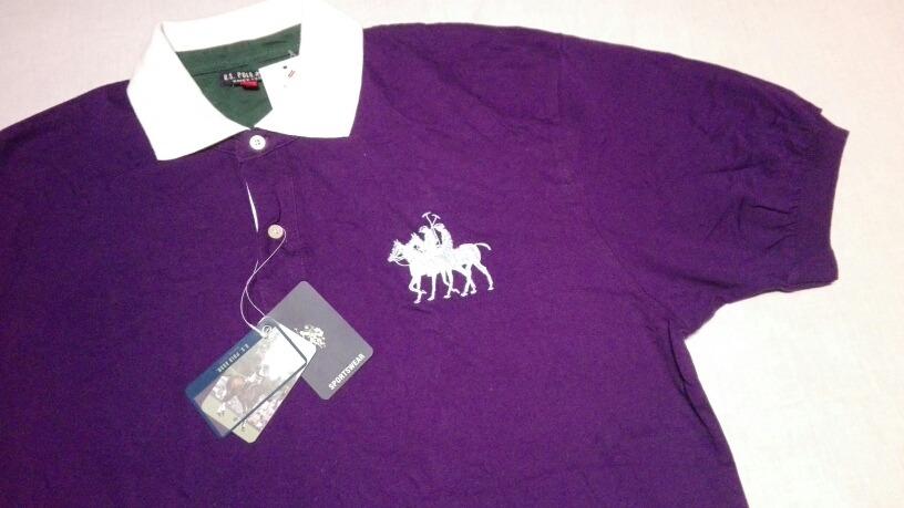 Franela Chemise U S Polo Assn Color Dk Purple Xl Exg Bs 36 990