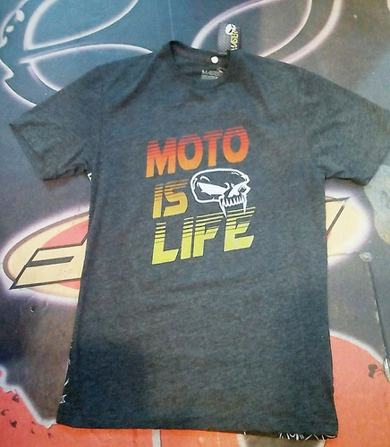 franela moto master, motocross, enduro, racing, 100% algodon