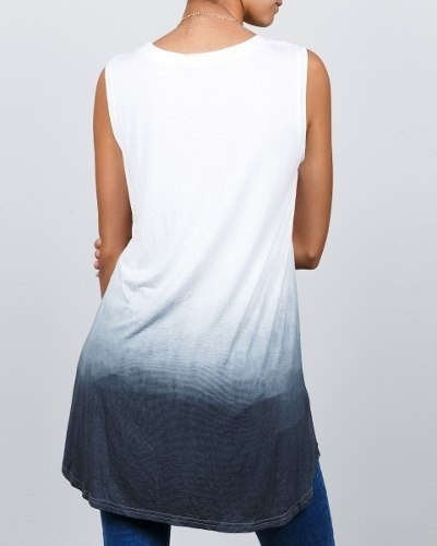 franela synergy flecos rasgada en hombros negra 108b