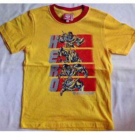 Franela Transformers Producto Original Talla 8-10