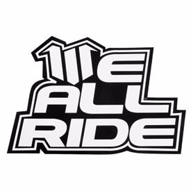 franela we all ride blanco 100% original consulte talla