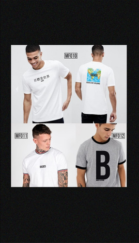franelas caballero basico clothing el mundo es la meta