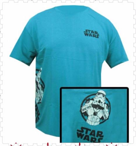 franelas caballero star wars plus xl-xxl-xxxl