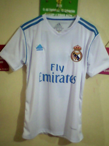 franelas camiseta real madrid temporada 2017-2018