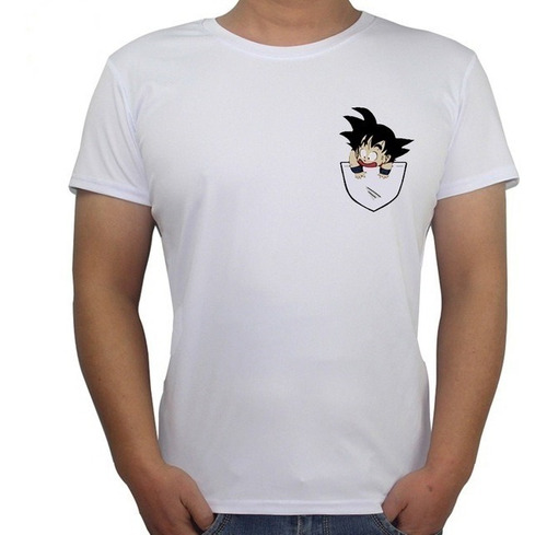 franelas de dragon ball, goku!!
