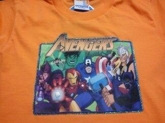 franelas de super heroes 100% algodon