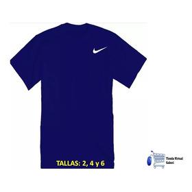 Franelas Deportivas Para Niños Nike ( Tallas 2, 4 Y 6)