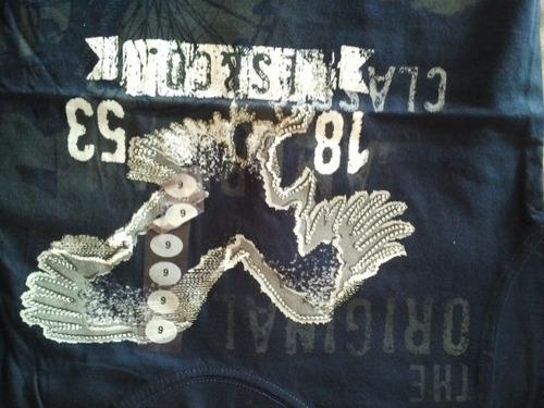 franelas levis importada usa 100% algodon talla 6